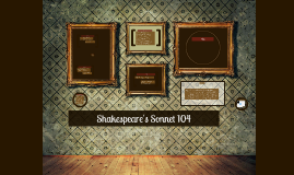 Shakespeare's Sonnet 104