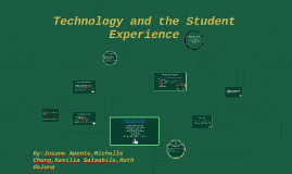 Technology and the Student Experience