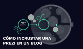 Copy of Cómo incrustar una Prezi en un blog