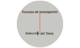 Proceso de Invesigación