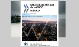 Estudios economicos de la OCD en mexico