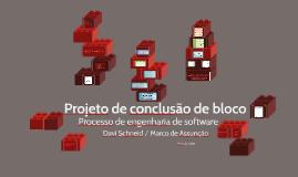 Projeto de conclusão de bloco