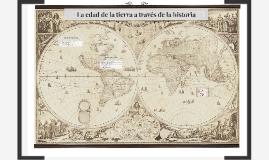 La edad de la tierra a través de la historia