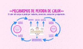 """Copy of """"MECANISMOS DE PERDIDA DE CALOR"""""""