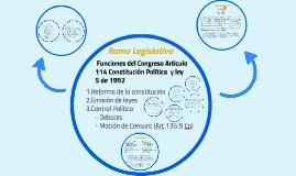 Rama Legislativa en Colombia