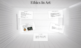 Ethics In Art