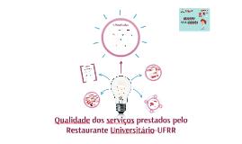 Qualidade do Restaurante Universitário