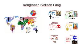 Religioner i verden i dag