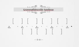 Grammatiköversikt-Satsläran