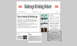 Underage Drinking Debate