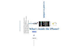 The iPhone Story