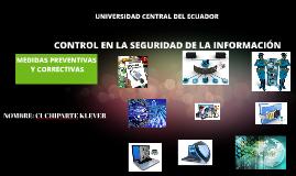 Copy of MEDIDAS PREVENTIVAS Y CORRECTIVAS SEGURIDAD DE LA INFOEMACION