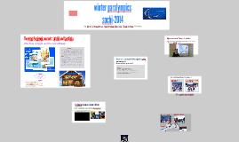 Презентация к уроку « Paralympics»
