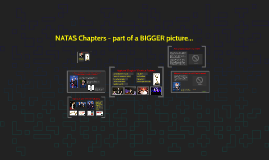 NATAS Chapters - part of a BIGGER picture...