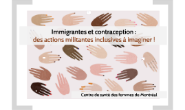 Immigrantes et contraception : des actions militantes inclus