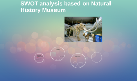 SWOT analysis based on natural history museum