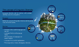 Copy of The concept of Linguistic Diversity
