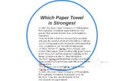 Which paper towel brand is the strongest hypothesis