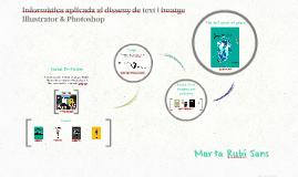 Informàtica aplicada al disseny de text i imatge