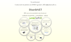 Program gestiune distributie DistribNET - Junior Soft