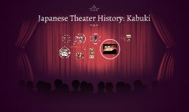 Theatre History: Kabuki