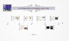 La Independencia de Grecia, ayer y hoy