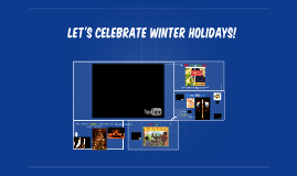 Let's celebrate winter holidays!