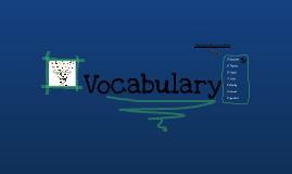 """Vocabulary """"Grouping Living Things"""""""
