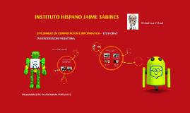 INSTITUTO HISPANO JAIME SABINES