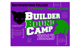 Mentoring for Builder Bound Camp