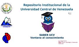 Saber UCV y OJS 2014  Fac. de Ingeniería