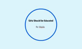 Girl's Education draft