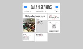 DAILY HUSKY NEWS