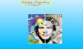 Validez de la estructura cognitiva