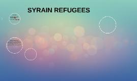SYRAIN REFUGEES