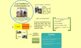 Los Cambios y Continuidades en la Historia