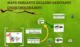 MAPA PARLANTE RELLENO SANITARIO
