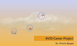 AVID Career Project