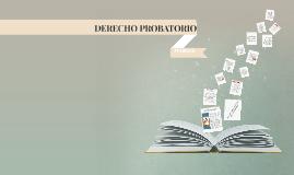 Copy of principios  rectores del derecho probatorio
