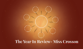 The Year in Review- Ashlie Crosson