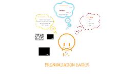Pronunciation basics