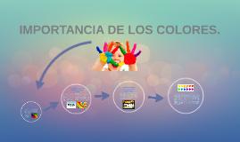 IMPORTANCIA DE LOS COLORES  EN LOS SITIOS WEB.