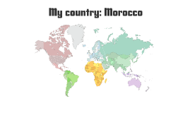 My country: Morocco