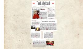 NBTT Newspaper Project: Grace, Maddie, Gabby & Matt