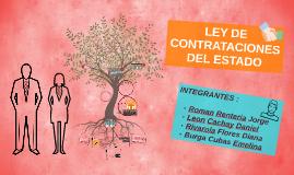 Copy of Copy of LEY DE CONTRATACIONES DEL ESTADO
