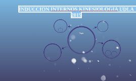 INDUCCION INTERNOS KINESIOLOGIA UDLA  2015