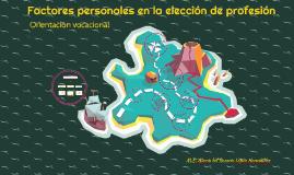 FACTORES PERSONALES EN LA ELECCIÓN DE PROFESIÓN