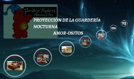 PROYECION DE LA GUARDERIA NOCTURNA