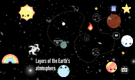 loyers of the Earth's atmosphere.
