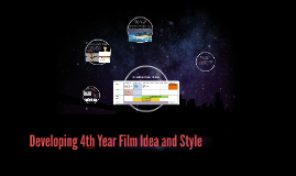 Developing 4th Year Film Idea and Style